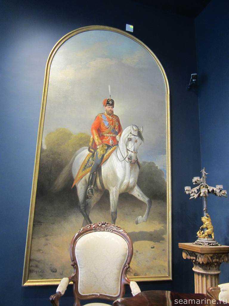Портретный зал Екатерининского дворца