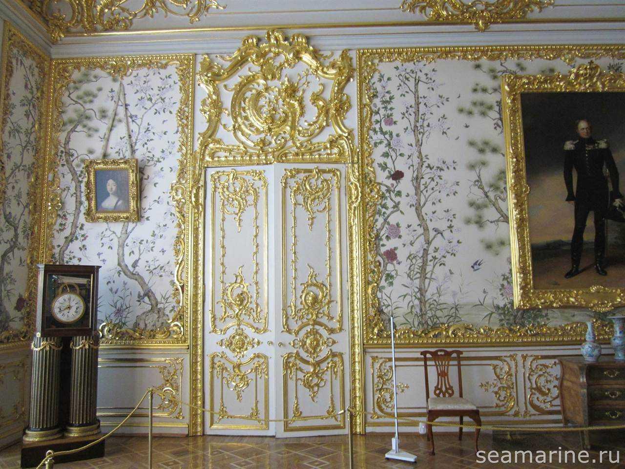 Екатерининский дворец. Китайская гостиная Александра I