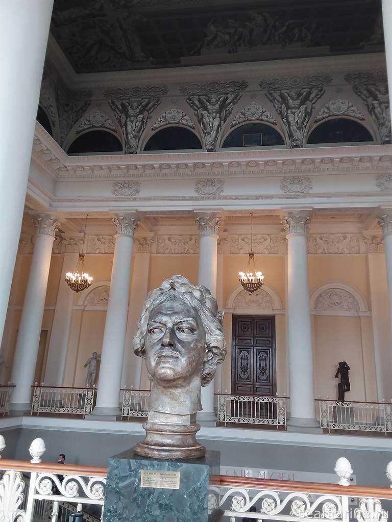 Посещение Русского музея Санкт-Петербурга