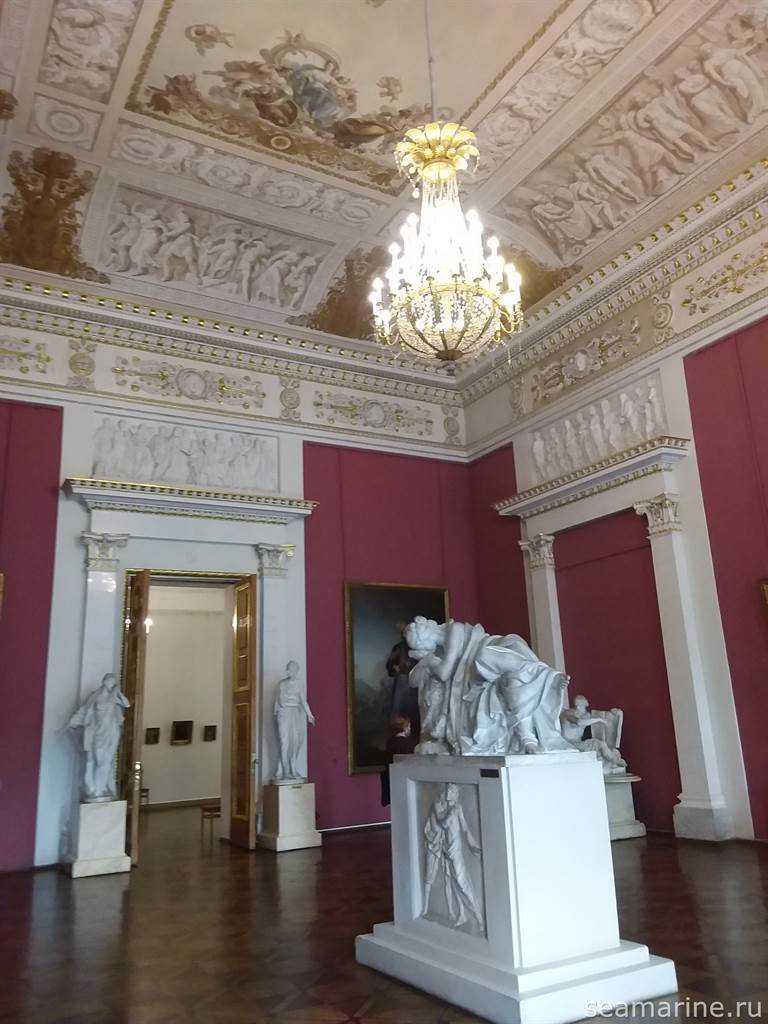 В Русском музее Санкт-Петербурга