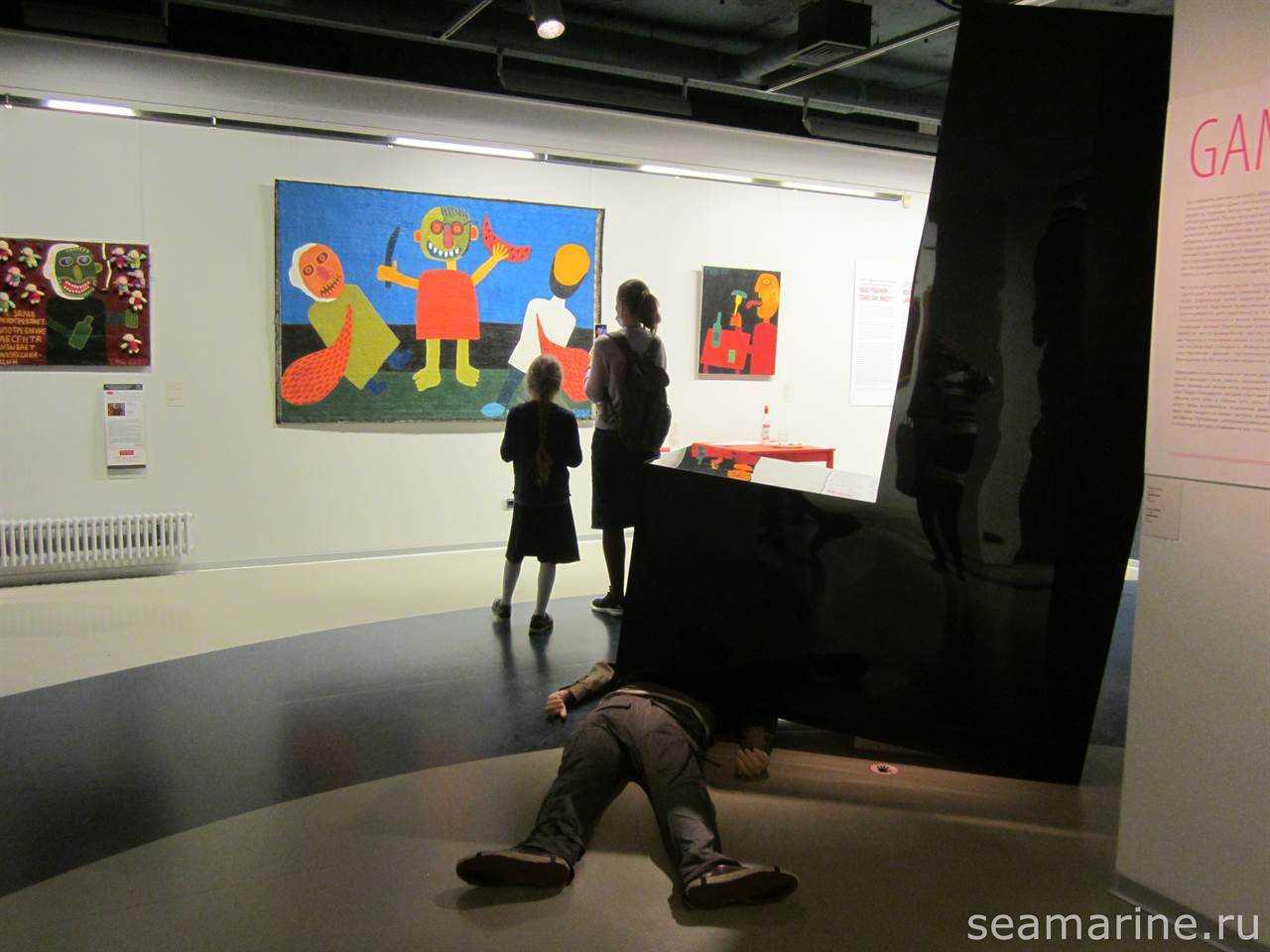 В музее Эрарта