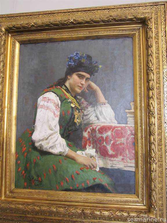 Посещение Русского музея в Санкт-Петербурге