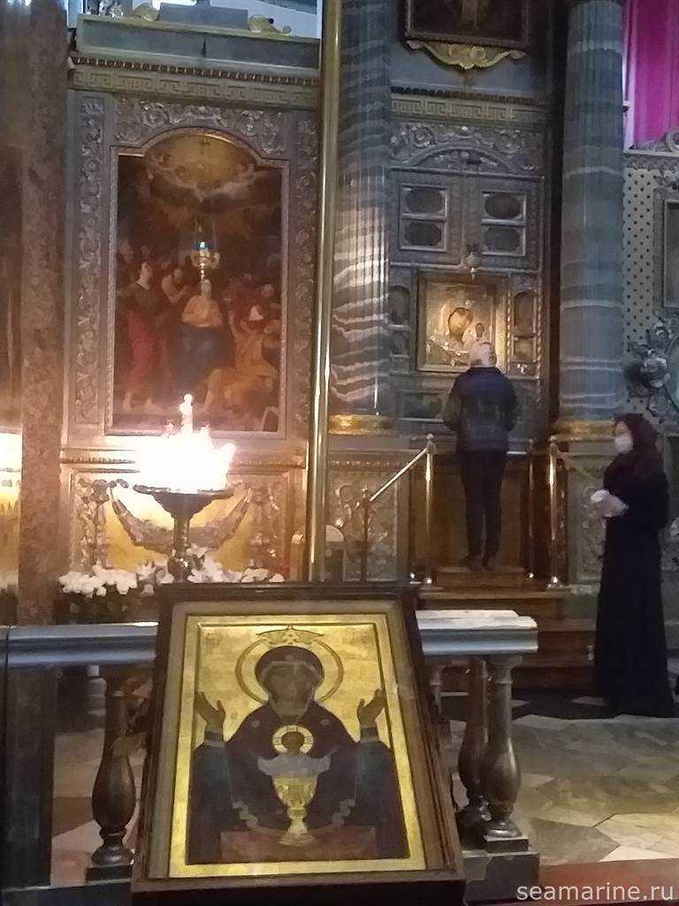 В Казанском соборе