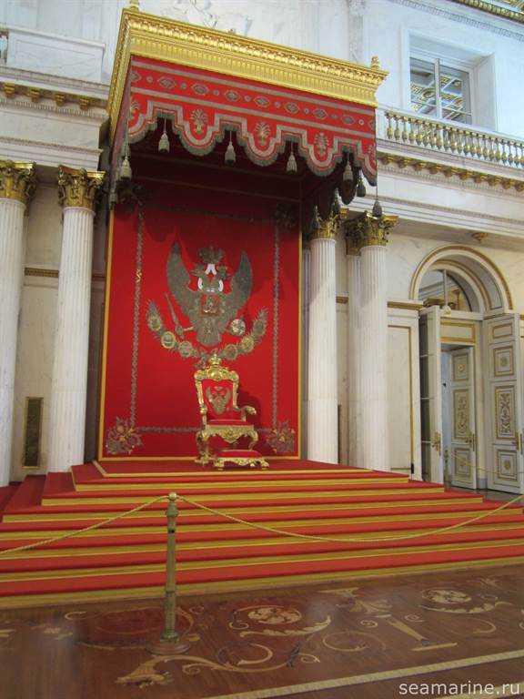 Большой тронный (Георгиевский) зал