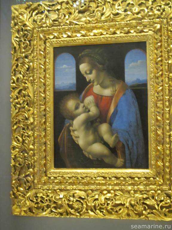 Мадонна Литта. Леонардо Да Винчи