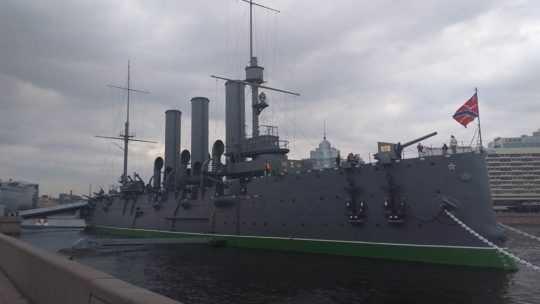 Крейсер-музей «Аврора» в Санкт-Петербурге